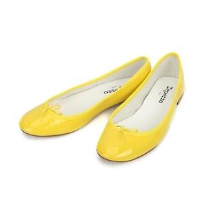 Repetto 丽派朵荧光黄色平跟鞋【直降¥599】