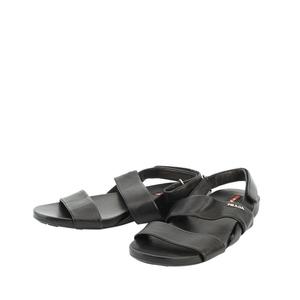 PRADA 普拉达黑色凉鞋