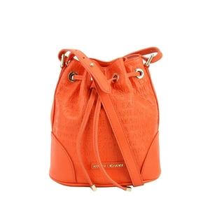 Armani Exchange 阿玛尼橘红色女士单肩包