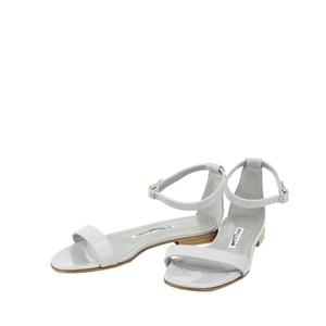 Manolo Blahnik 马诺洛灰色凉鞋