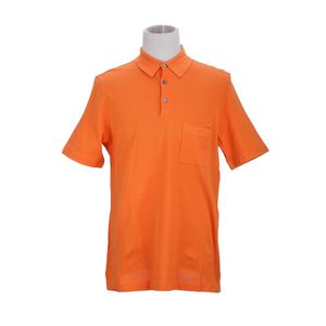 Hermès 爱马仕橘黄色短袖