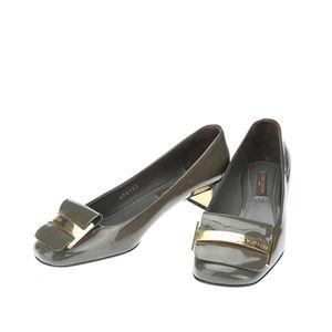 Louis Vuitton 路易·威登漆皮低跟鞋
