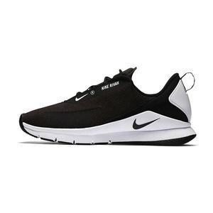 NIKE 耐克RIVAH女子黑白跑步鞋