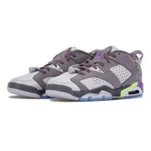 Air Jordan 6复古低帮GG Ultraviolet篮球鞋