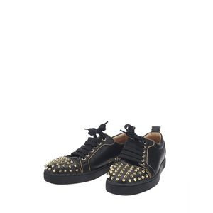 Christian Louboutin 克里斯提·鲁布托黑色铆钉休闲鞋
