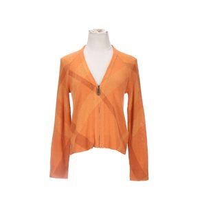 Burberry 博柏利橘色女士针织衫