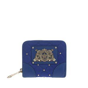 Juicy Couture 橘滋蓝色短款钱包