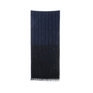 Versace 范思哲蓝色围巾