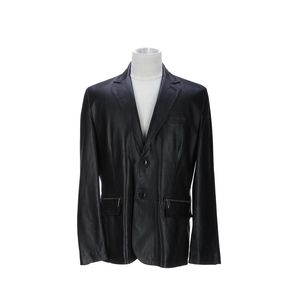 Versace 范思哲黑色皮衣