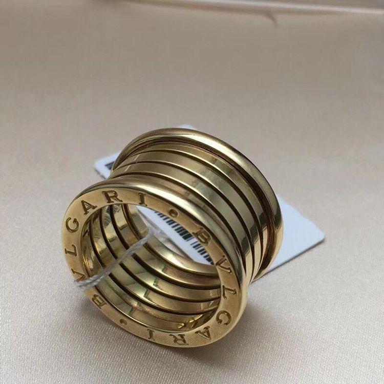 宝格丽弹簧戒指价格_BVLGARI 宝格丽黄金四环弹簧戒指-心上共享平台