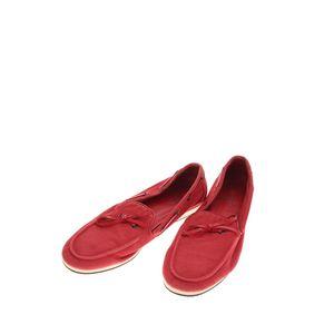 Hermès 爱马仕红色帆布休闲鞋