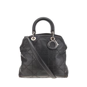 Dior 迪奥灰色女士单肩手提包