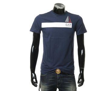 Emporio Armani 安普里奥·阿玛尼男士夏季休闲印花百搭短袖T恤