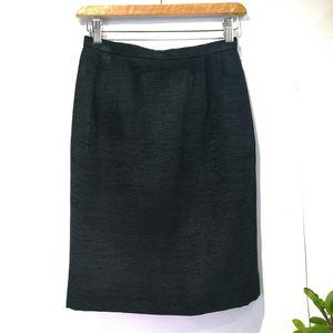 Dior 迪奥YF04063经典必备黑色显瘦半身裙铅笔裙