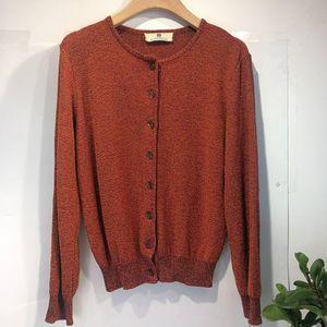 GIVENCHY 纪梵希YF04052百搭棕糖色针织开衫外套上衣