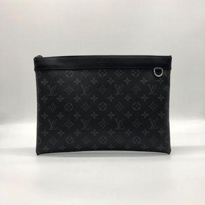 Louis Vuitton 路易·威登黑花手包