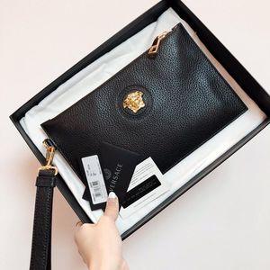 Versace 范思哲美杜莎全皮手包