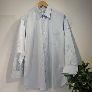 Dior 迪奥YF04058高端定制职场浅蓝衬衫长袖