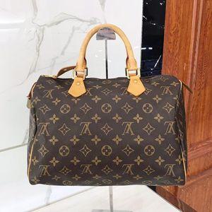 Louis Vuitton 路易·威登经典棕色老花枕头包