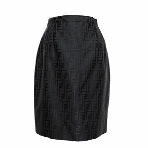 FENDI 芬迪logo高腰半裙