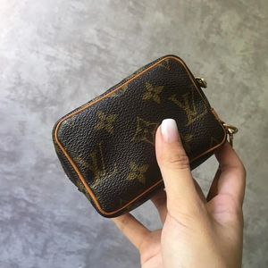 Louis Vuitton 路易·威登老花小豆腐零钱包