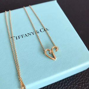 Tiffany & Co. 蒂芙尼绝版白羊座18k金项链