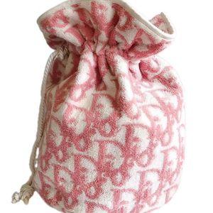 Dior 迪奥老花毛巾水桶包