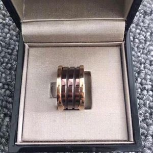 BVLGARI 宝格丽陶瓷戒指