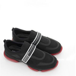 PRADA 普拉达男士魔术贴舒适休闲鞋