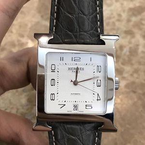 Hermès 爱马仕男士H款自动机械腕表