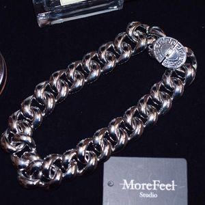 Versace 范思哲希腊风璀璨星河大锁链项链