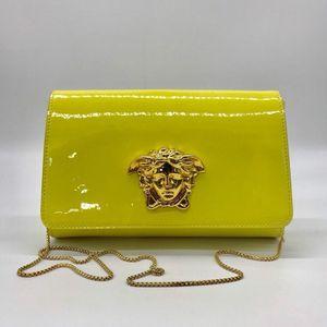 Versace 范思哲漆皮链条包