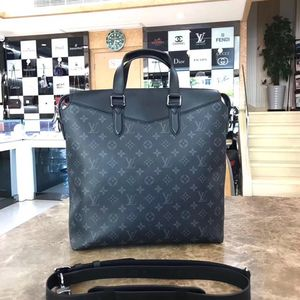 Louis Vuitton 路易·威登黑花单肩包