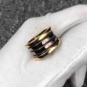 BVLGARI 宝格丽陶瓷戒指 52号