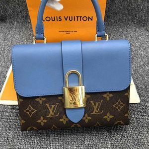 Louis Vuitton 路易·威登lockybb老花锁头单肩手提包