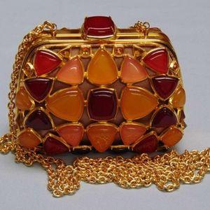 Dior 迪奥珠宝琉璃水晶手拿包