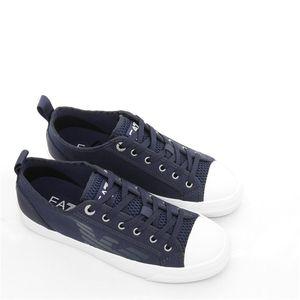 Emporio Armani 阿玛尼男士系带低帮休闲鞋