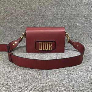 Dior 迪奥J'adior红色小牛皮中号肩背斜挎链条包