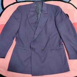 Versace 范思哲紫色西服