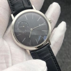 PIAGET 伯爵ALTIPLANO系列G0A34120超薄机械男士腕表