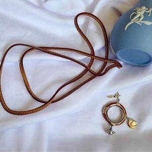 Hermès 爱马仕丝巾扣毛衣链