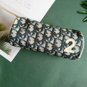 Dior 迪奥老花小圆筒手包