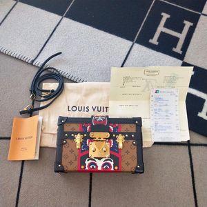 Louis Vuitton 路易·威登限量舞伎老花小盒子单肩包