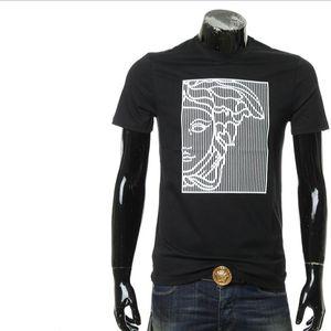 Versace 范思哲美杜莎男士休闲百搭短袖T恤