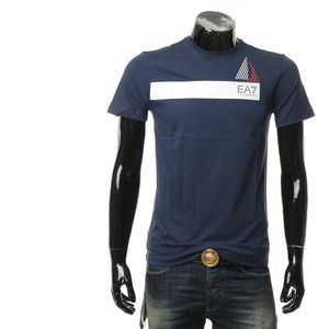 Emporio Armani 安普里奥·阿玛尼夏季休闲印花百搭短袖T恤