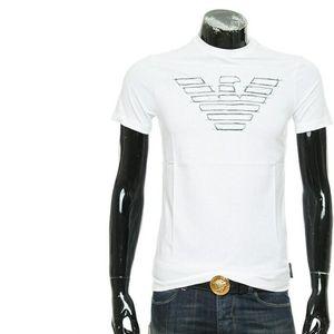 Emporio Armani 安普里奥·阿玛尼鹰标男士短袖圆领T恤