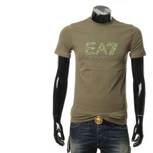 Emporio Armani 安普里奥·阿玛尼男士圆领修身短袖T恤