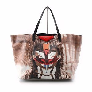 GIVENCHY 纪梵希面具女孩大号子母购物袋