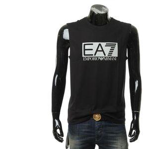 Emporio Armani 安普里奥·阿玛尼男士休闲无袖圆领T恤上衣