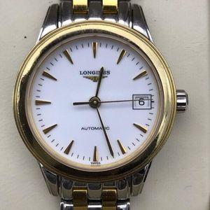LONGINES 浪琴女士军旗系列自动机械手表